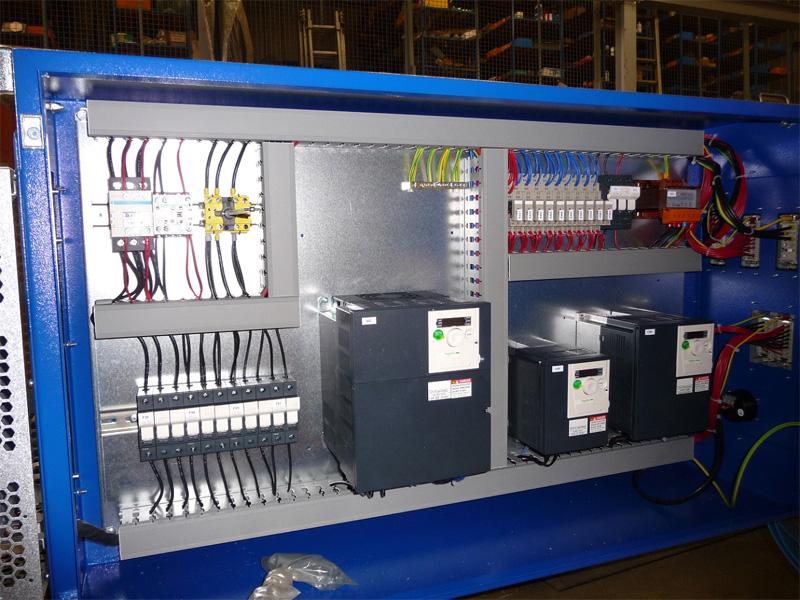 Armoire lectrique de pont roulant accessoires de levage amio - Cableur d armoire electrique ...