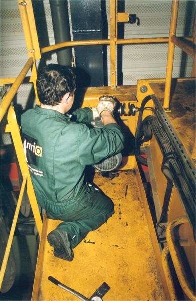 Faire une inspection de votre pont roulant avec Amio