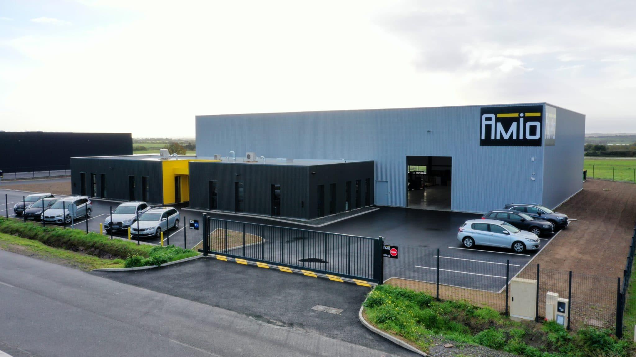 Le nouveau bâtiment AMIO