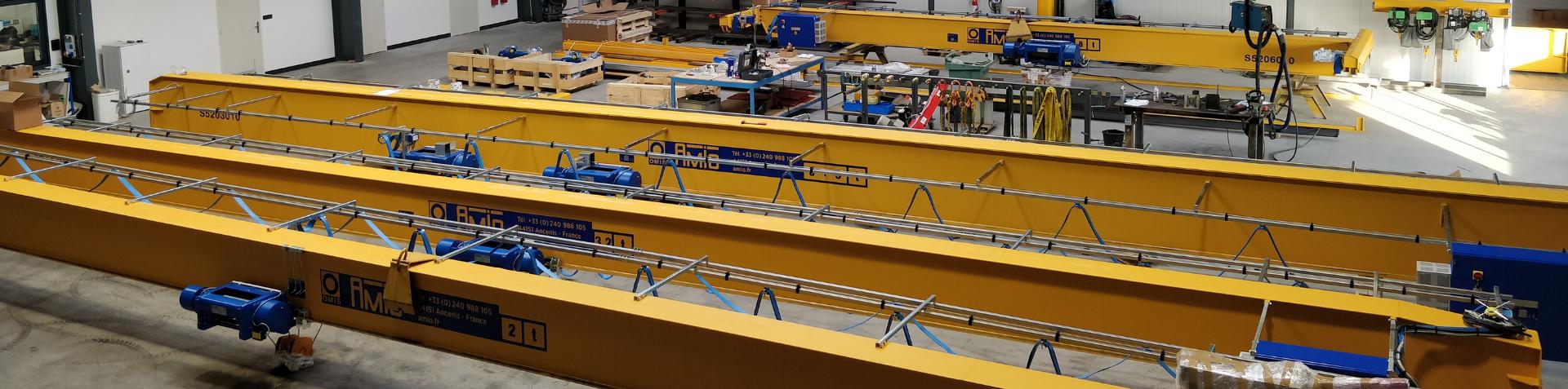 Armoires électrique de ponts roulants